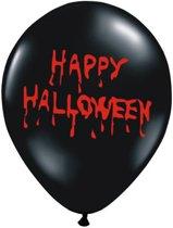 Ballonnen Halloween Happy Halloween 50 stuks