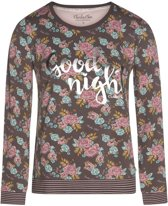 Charlie Choe - Charlie Choe dames pyjama longsleeve Bonne Nuit Maat: S