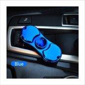 Fidget spinner USB aansteker Blauw