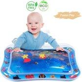 Opblaasbare waterspeelmat – Baby trainer - Speelmat Baby - Speelkleed baby – Kraamcadeau – Babyshower – Speelmat - Speelgoed – Watertafel – Watermat - Baby splash waterspeelmat