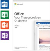 Microsoft Office 2019 Home and Student - Eenmalige