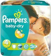 Pampers Baby luier Baby Dry Maat 4 - 120 stuks