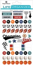 Paper House Life Organized planner stickers Sports Planner