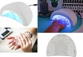 24/48W Nageldroger UV LED Lamp Gel nagellak - Gellak / Gelnagels - Gel Nagellak Droger - Nagellamp - Nagel Lamp - WIT