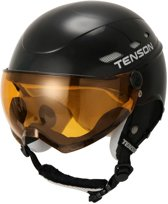 Core Visor skihelm Black