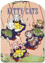 Five Little Kitty Cats Shape Book