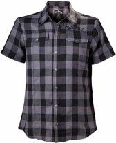 Jack Daniels-Bl./Grey Checks Shir-S