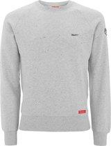 Wind .. Sweater Slim Fit Gray Marl - Maat XXL - Off Side - incl. Gratis rugzak