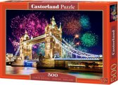 Tower Bridge, England puzzel 500 stukjes
