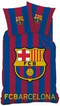 FC Barcelona Logo - Dekbedovertrek - Eenpersoons - 140 x 200 cm