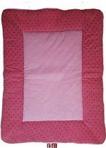 ISI Mini - Boxkleed / Kruipkleed - Roze met stippen - limited edition - 80x100cm