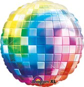 Jumbo Disco Fever 70 s Foil Balloon P33 Packaged 81 x 81 cm