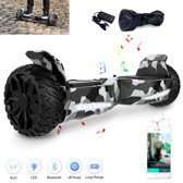 Cool & Fun Hoverboard Hummer 6.5 inch, Gyropode SUV Off-Road, Elektrische zelfbalancerende Scooter, Bluetooth Speaker, LED-lamp, CE gecertificeerd