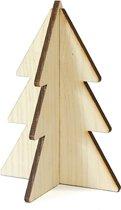 Villa Madelief Kerstboom hout blank 15cm