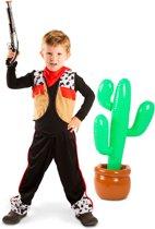 Cowboy - Kinderkostuum - 3-delig - Maat M