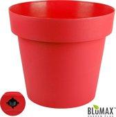 Blumax Plantenbak met Wieltjes, MELROSE Rood, 45 Liter