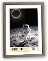 Kunstof Fotolijst New Easy Donker Zilver 21X29,7cm KK11