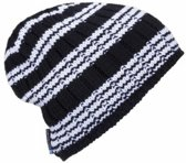 Ortovox Beanie Rock 'N' Woool Stripe / Black Raven