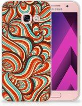 Samsung Galaxy A3 2017 TPU Hoesje Design Retro