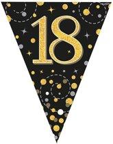 Vlaggenlijn 18 jaar Zwart Goud