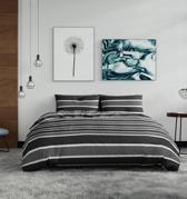Pierre Cardin Classic Stripe Grijs - 240x200/220