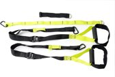 Laubr Suspension Trainer - Cross Fit multi trainer - Geel/Zwart