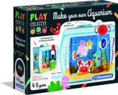 Clementoni - Play Creative - Maak Je Eigen Aquarium - Hobbypakket