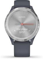 Garmin Vivomove 3S - hybride smartwatch - 39 mm - Blauw/zilver
