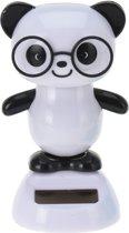 Tender Toys Solarfiguur Panda 10 Cm Wit