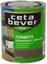 Cetabever Transparante Tuinbeits - 0,75 liter - Grijs