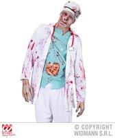 Zombie Kostuum | Zombie Dokter Zombie Chirurg Volwassen Medium / Large Kostuum Man | XL | Halloween | Verkleedkleding