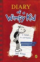 Boek cover Diary Of A Wimpy Kid (Book 1) van Jeff Kinney (Onbekend)