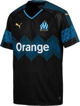 PUMA Olympique de Marseille Uitshirt 2018/2019 Heren - Puma Black-Bleu Azur