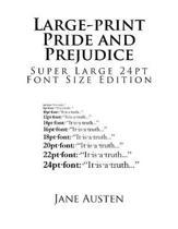 Large-Print Pride and Prejudice
