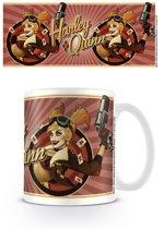 Dc Comics Bombshell Harley Quinn Red