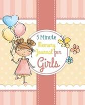 5 Minute Memory Journal for Girls: A Mother and Daughter Keepsake Journal