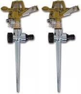 Sprinkler set met metalen pin (2 stuks)
