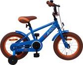 Amigo Sports - Kinderfiets - Jongens - Blauw - 14 Inch