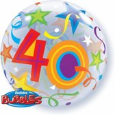 Folie ballon 40 jaar 56 cm