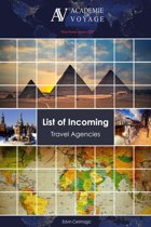 List of Incoming Travel Agencies