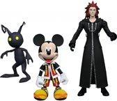 Kingdom Hearts Collector's Action Figures - Mickey/Axel...