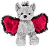 Magnetron warmte knuffel vleermuis 18 cm - Verwijderbare zak - Warmte/koelte knuffelvleermuis - Kruik knuffels voor kinderen/jongens/meisjes