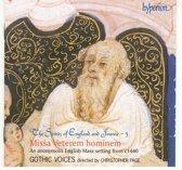 The Spirits of England and France Vol 5 -Missa Veterem