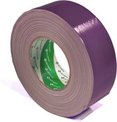 Nichiban   -  duct tape    -  50 mm x 50 m   -  Paars