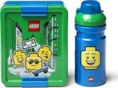 Lego Iconic Lunchset Boy - Groen/Blauw