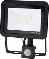 Led bouwlamp met sensor 30W warm-wit