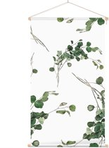 Textielposter Botanisch Bladpatroon 4 - 40 x 70 cm
