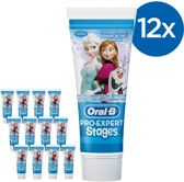 Oral B Pro-Expert Stages Frozen - Voordeelverpakking 12x75ml - Tandpasta