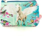 Etui Pegasus - Etui Vliegend Paard - 24x17x3 cm