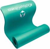 #DoYourFitness - dikke fitness mat perfect voor pilates, aerobics, yoga - »Yamuna« - non-slip, duurzaam, huidvriendelijk, slijtvast - 183 x 61 x 1,5 cm - turquoise